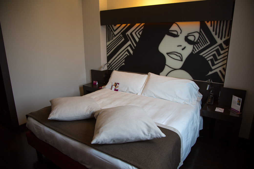 hotelkamer in Milaan