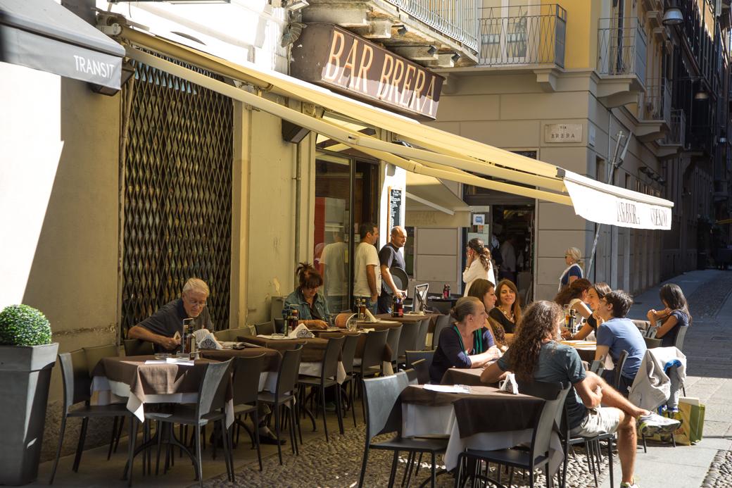 bar in Brera